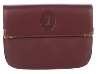 Cartier Leather Flap Wallet