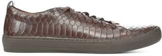 Donald J Pliner RAND, Vintage Python Leather Sneaker