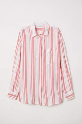 c219d561edde82 H&M Pink Women's Longsleeve Tops on Sale - ShopStyle