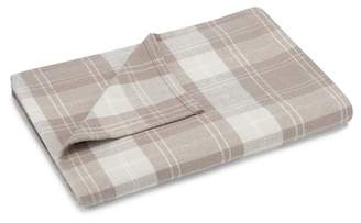 Pendleton Queen Wrangell Plaid Blanket - Tan