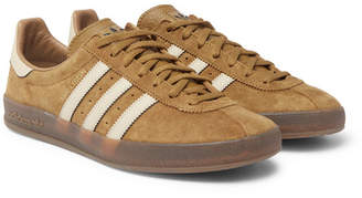 adidas Mallison Spezial Leather-Trimmed Suede Sneakers - Brown