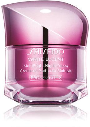 Shiseido Women's White Lucent MultiBright Night Cream $90 thestylecure.com