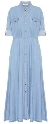 Schumacher Dorothee Denim Dream maxi dress