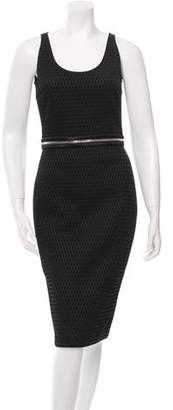 Givenchy Zip-Accented Sheath Dress w/ Tags