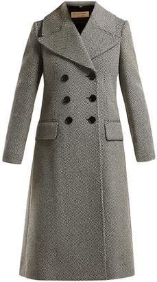 Burberry Aldemoor wool-blend twill coat