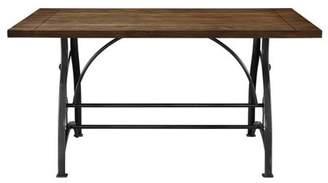 Accentrics Home Rosebank Wood & Metal Dining Table