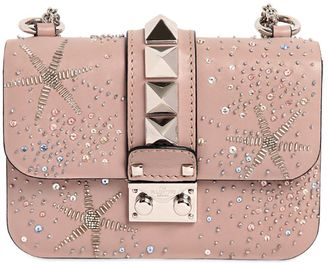 Mini Lock Embellished Leather Bag $3,145 thestylecure.com