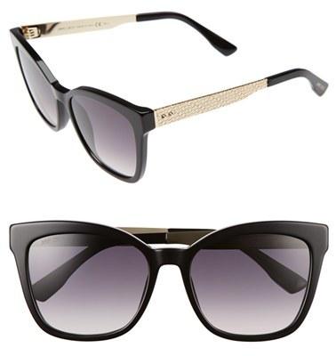 Jimmy ChooWomen's Jimmy Choo 55Mm Retro Sunglasses - Black