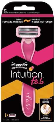 Wilkinson Sword Intuition f.a.b. Women's Razor