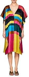 Eres Women's Bambino Striped Silk Caftan - Fizz