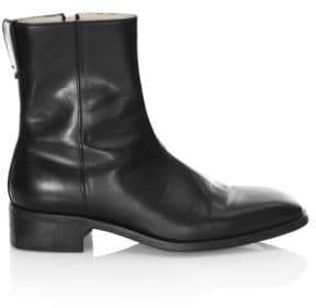 Faux-Leather Boots