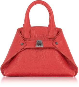 Akris Love Leather Micro Ai Crossbody Bag
