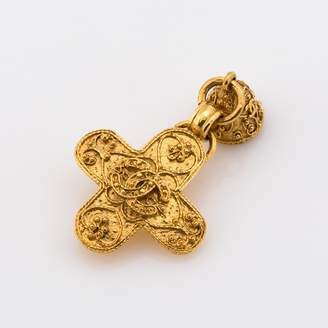 Chanel CC Logo Brooch (Pre Owned)