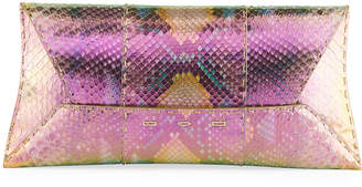 VBH Manila Stretch Wave Maui Python Clutch Bag