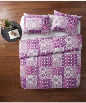 Vcny Home Nadia Patchwork 3-Pc. Full/Queen Quilt Set