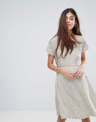 Yumi Nordic Dash Print Dress