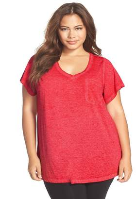 Make + Model Gotta Have It V-Neck Tee (Plus Size) (2 for $38)