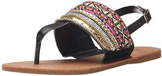 Qupid Women's Archer-41X Flat Sandal