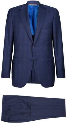 Canali Check Two-Piece Suit