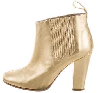 Marc by Marc Jacobs Metallic Ankle Boots
