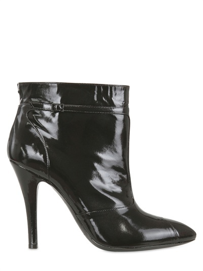 Maison Martin Margiela 100mm Patent Low Boots