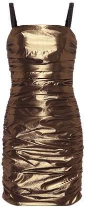 Dolce & Gabbana Lame minidress