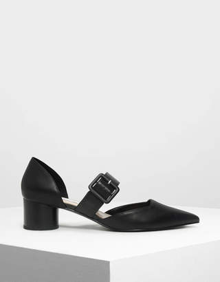 Charles & Keith Mary Janes Buckle Pumps