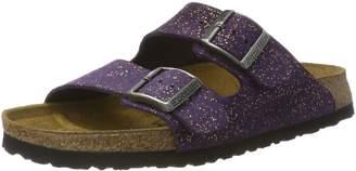 Papillio Womens by Birkenstock Arizona Grace Violet Suede Sandals 40 EU