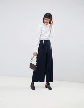 Max & Co. cropped wide leg pants