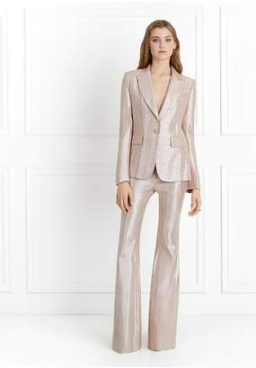 Rachel Zoe Debra Metallic Suiting Blazer