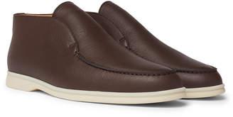 Open Walk Full-Grain Leather Boots