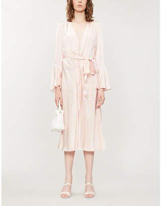 b719f61878ef6c Ghost Annabelle floral-print satin midi dress