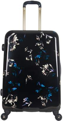 """Aimee Kestenberg Midnight Floral 24"""" Spinner Checked Suitcase"""
