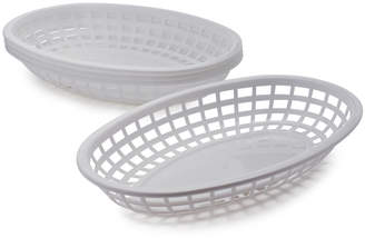 Sur La Table White Burger Baskets
