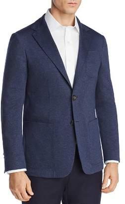Canali Chevron Stretch-Jersey Regular Fit Soft Jacket