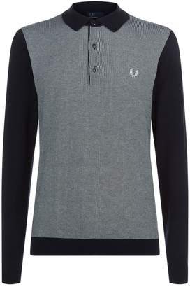 Fred Perry Jacquard Knitted Shirt