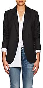Nili Lotan Women's Classon Virgin Wool Single-Button Blazer - Black