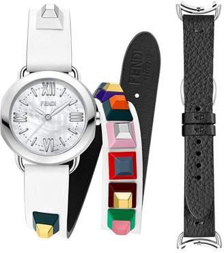 Fendi Selleria watch with interchangeable straps