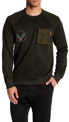 Reebok Beams 3D-Pocket Sweater $110 thestylecure.com