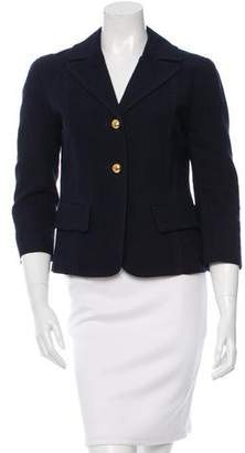 Marc Jacobs Textured Button-Up Blazer