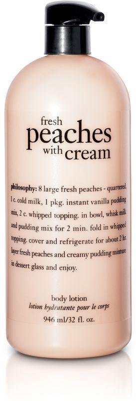 philosophy Jumbo Fresh Peaches with Cream Lotion