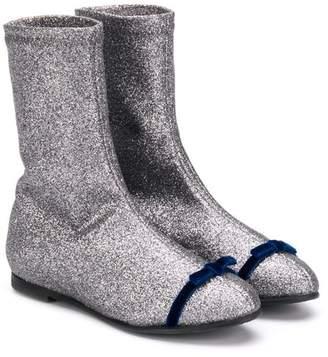 Douuod Kids almond toe boots
