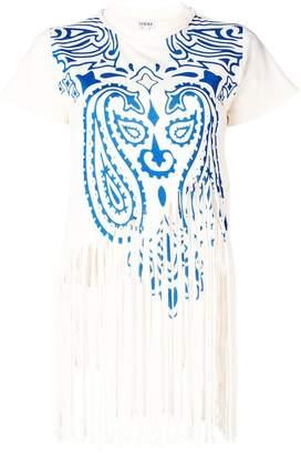 Loewe fringe paisley T-shirt