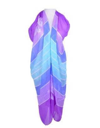 245c832b6d HERRICO Women Beach Wrap Sarong Pareo Cover up Swimwear Bikini Pattern  Chiffon Shawl Scarf
