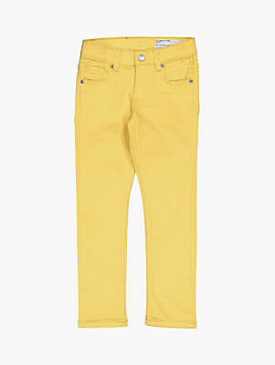 1ce0bdcfa48c Polarn O. Pyret Children's Slim Fit Jeans, Yellow