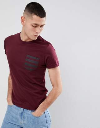 French Connection Stripe Pocket T-Shirt