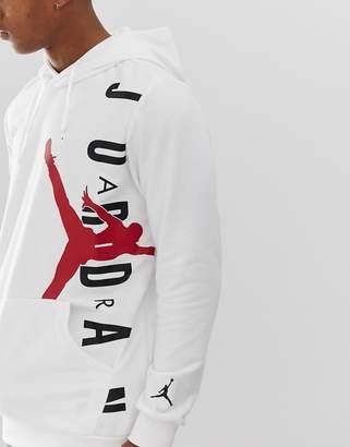 Jordan Nike Jumpan Hoodie In White