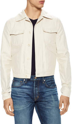 Tom Ford Spread Collar Denim Jacket