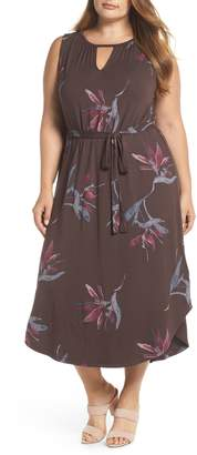 Lucky Brand Floral Halter Dress