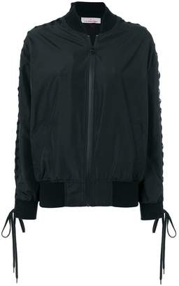 A.F.Vandevorst zipped bomber jacket